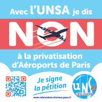 NON à la privatisation d'ADP (Aéroports de Paris)